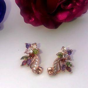 Jewelry - Mona Lisa 'Style' Rose Gold Earrings